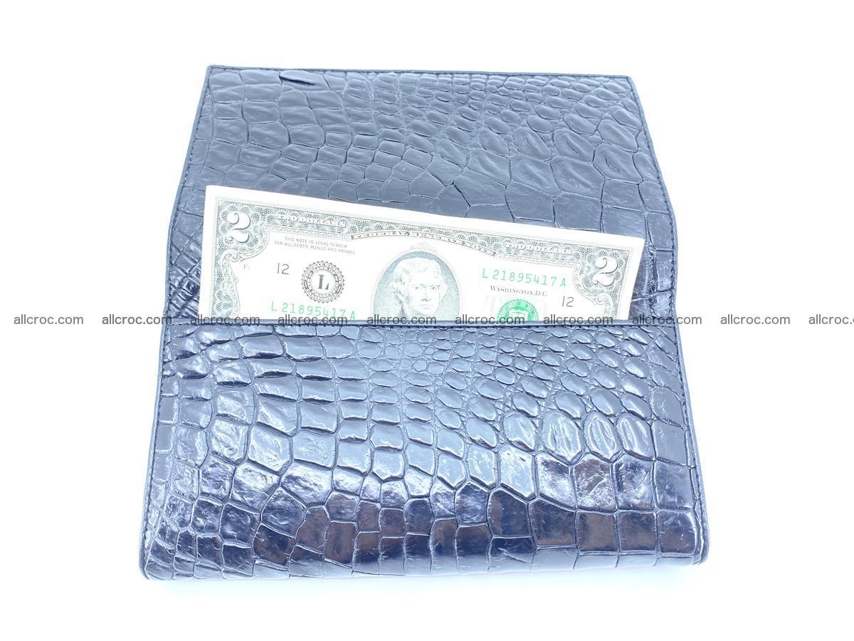 Crocodile leather wallet long wallet trifold 655 Foto 1