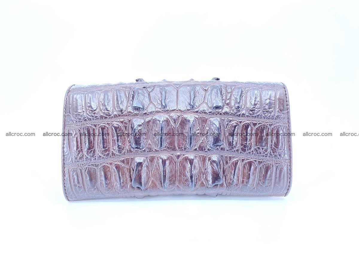 Crocodile leather wallet long wallet trifold 651 Foto 1