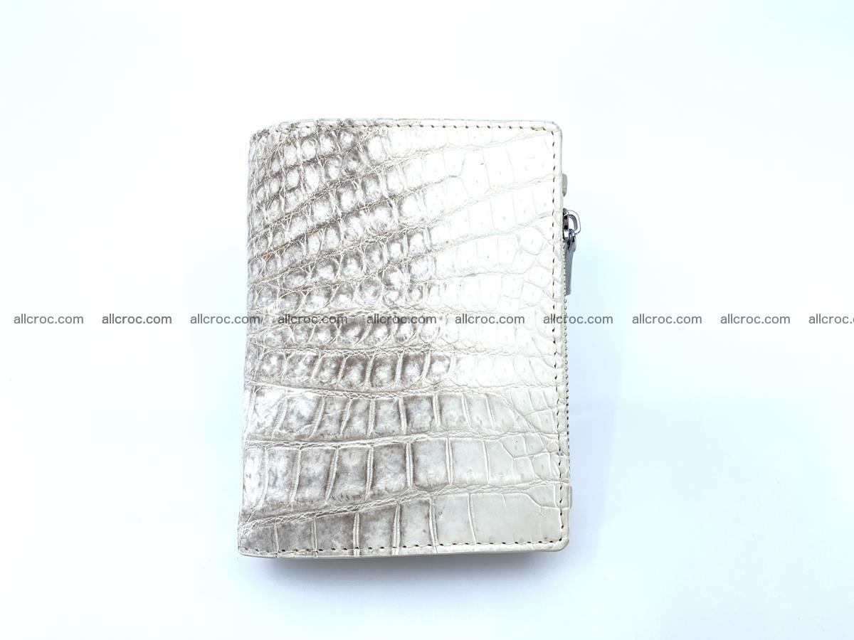 Crocodile leather vertical wallet HK 645 Foto 0