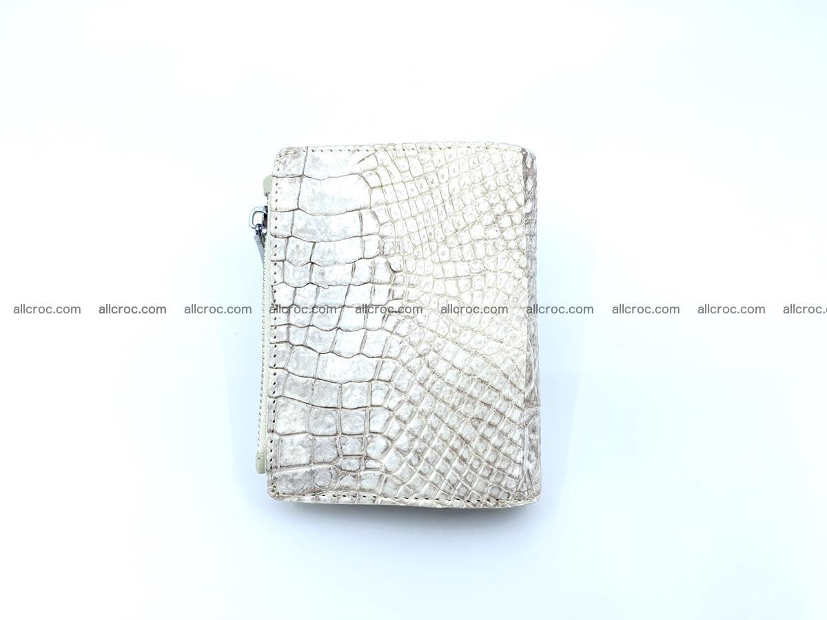 Crocodile leather vertical wallet HK 645 Foto 1