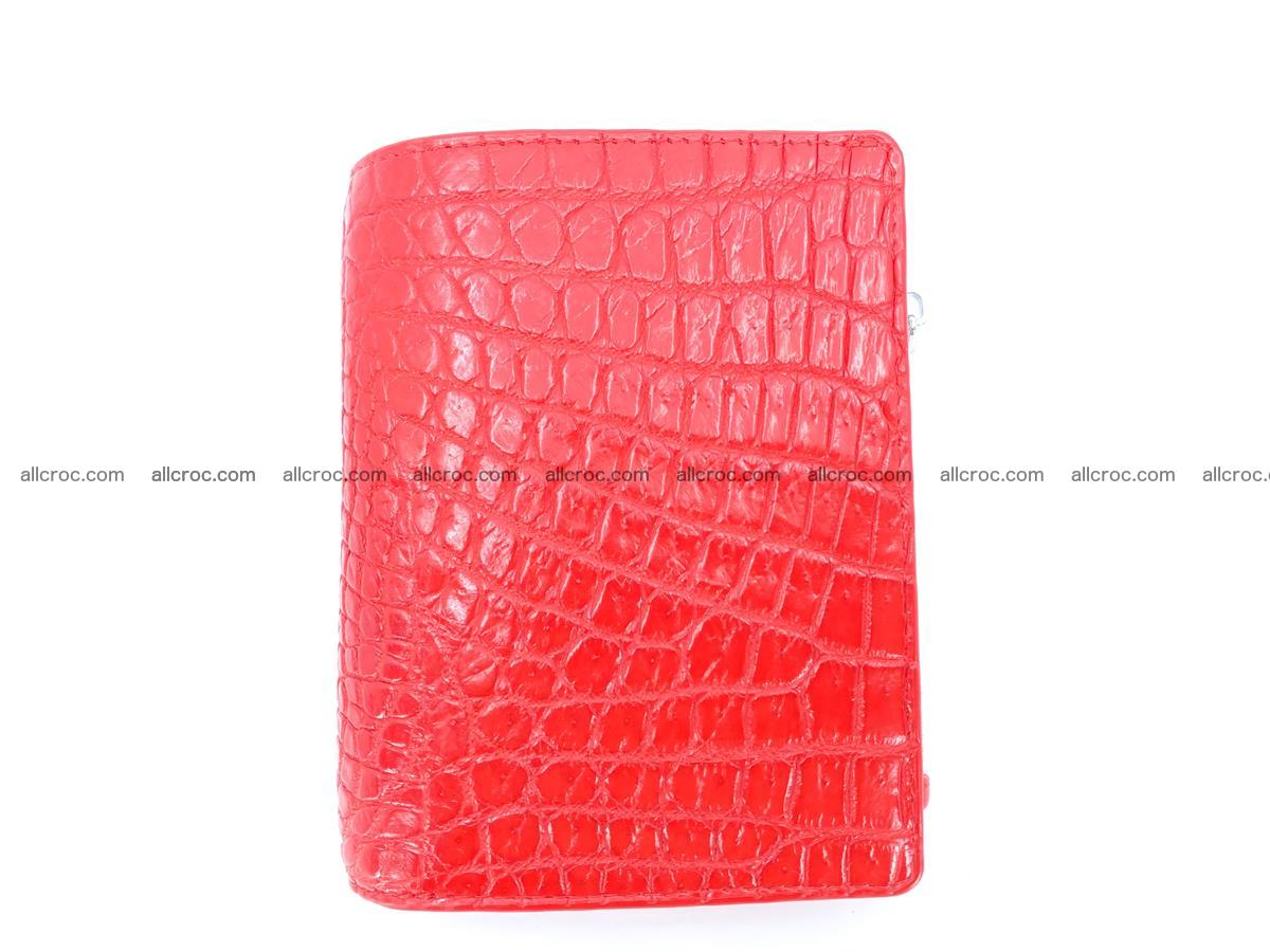 Crocodile leather vertical wallet HK 646 Foto 0