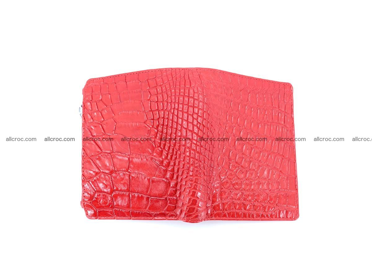 Crocodile leather vertical wallet HK 646 Foto 5
