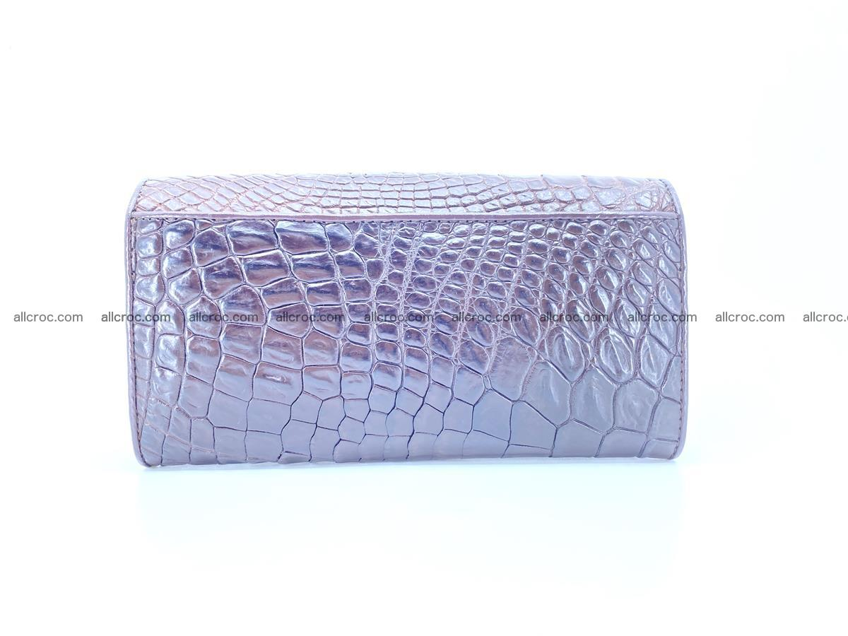 Crocodile leather wallet long wallet trifold 654 Foto 1