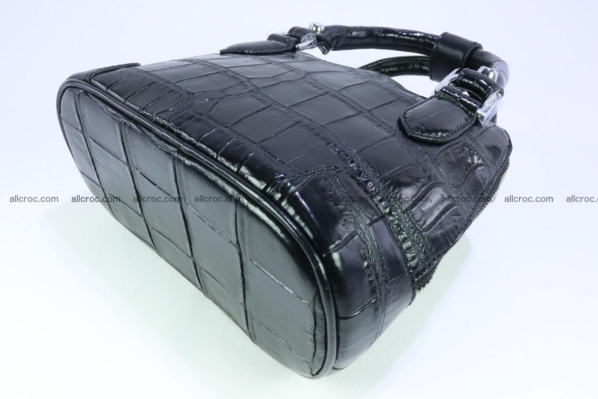 Siamese crocodile skin handbag 378 Foto 7