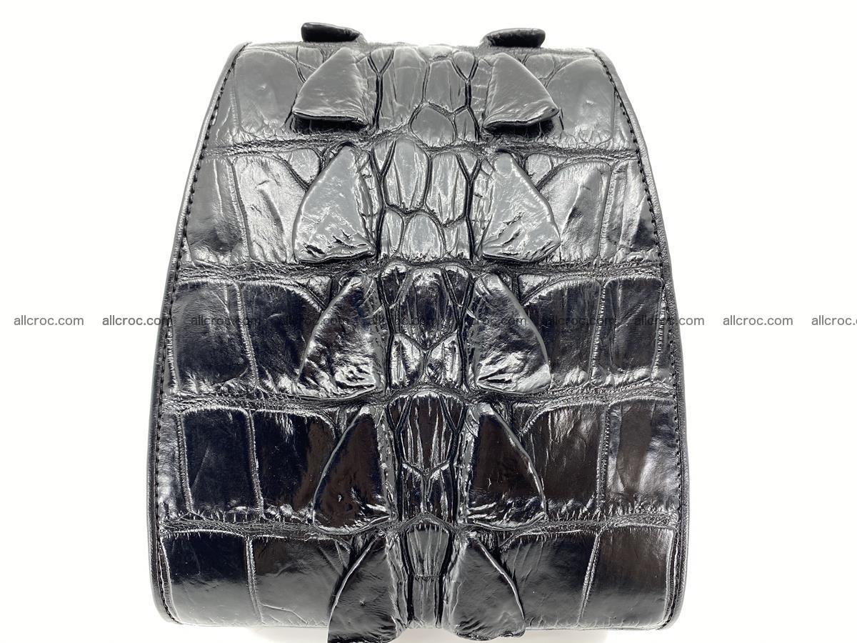 Crocodile skin shoulder bag tail part 884 Foto 1