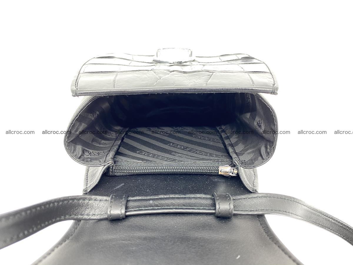 Crocodile skin shoulder bag tail part 884 Foto 7