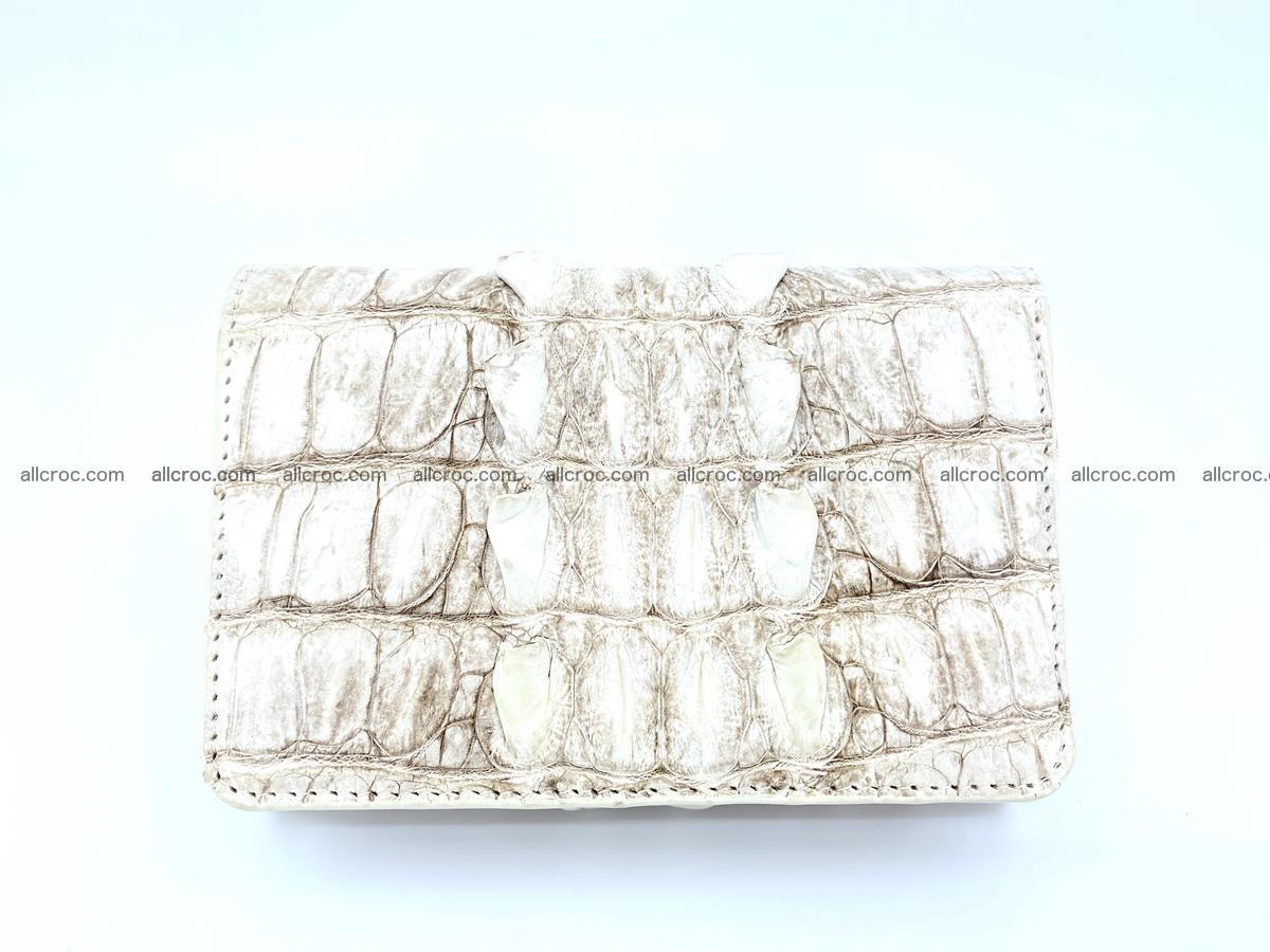 Siamese crocodile skin wallet for women 448 Foto 0