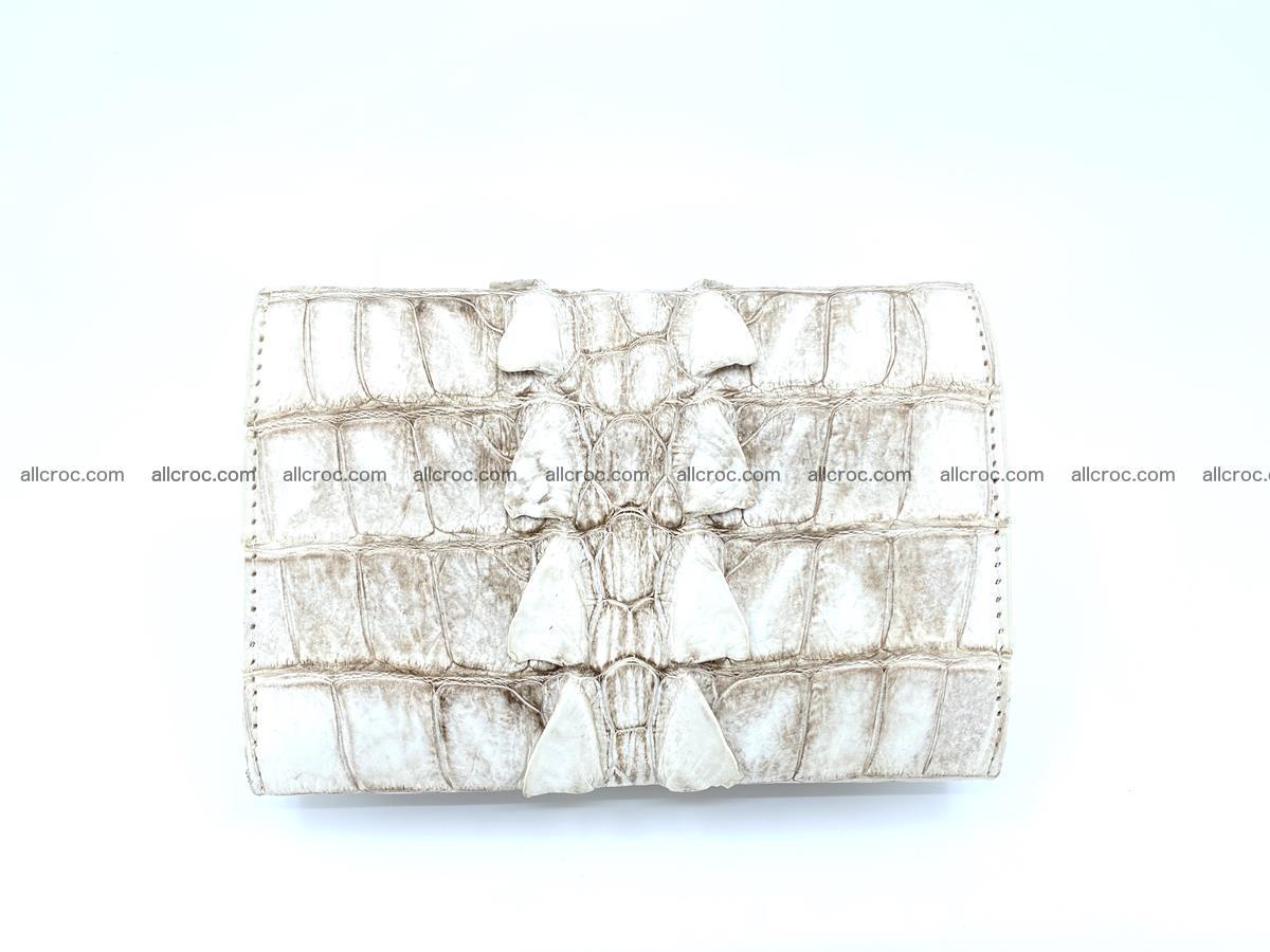 Siamese crocodile skin wallet for women 448 Foto 1