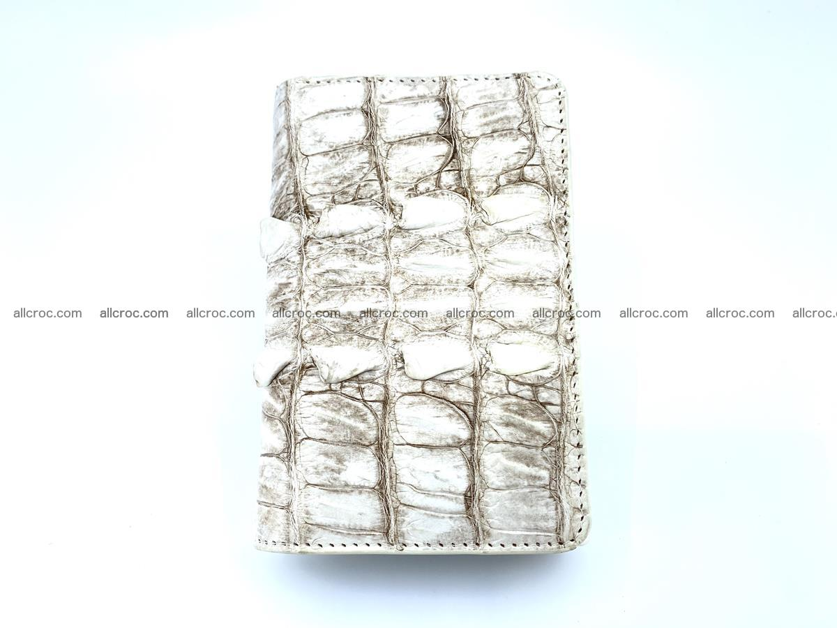 Siamese crocodile skin wallet for women 448 Foto 3