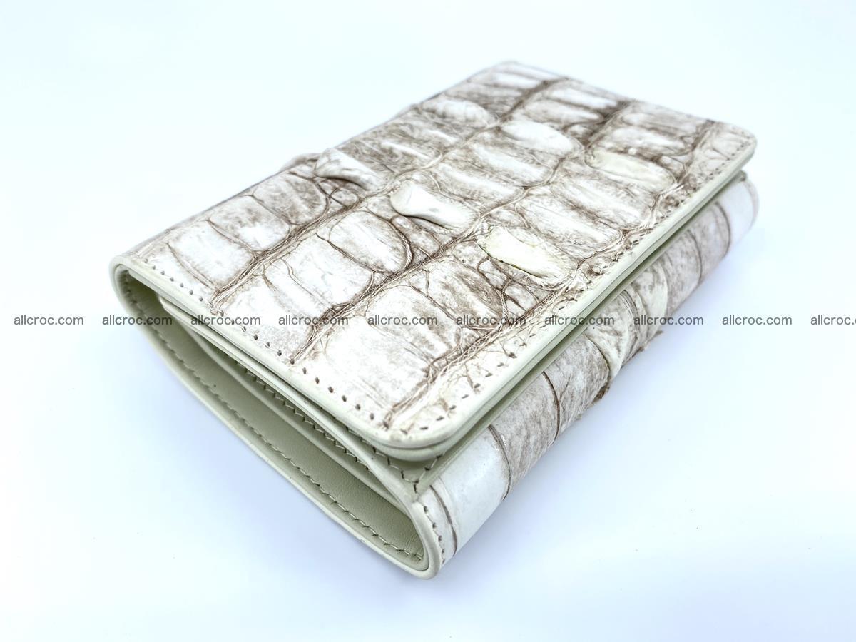 Siamese crocodile skin wallet for women 448 Foto 5