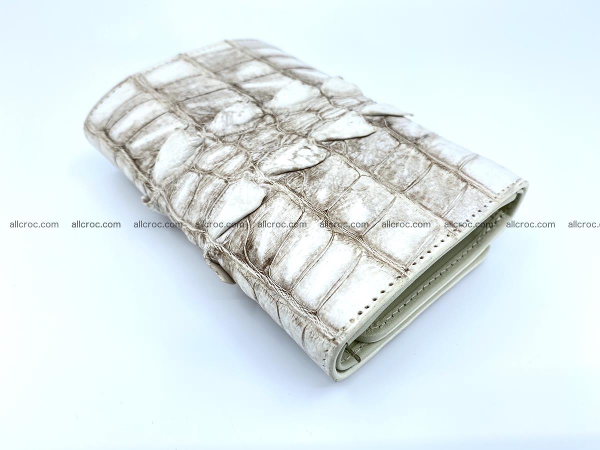 Siamese crocodile skin wallet for women 448 Foto 9