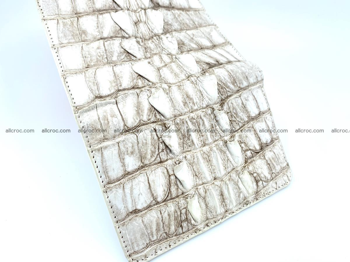 Siamese crocodile skin wallet for women 448 Foto 11
