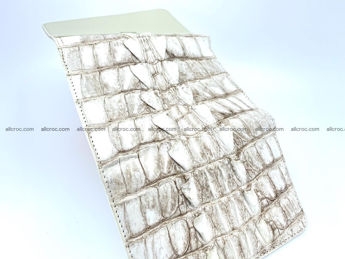 Siamese crocodile skin wallet for women 448 Foto 2