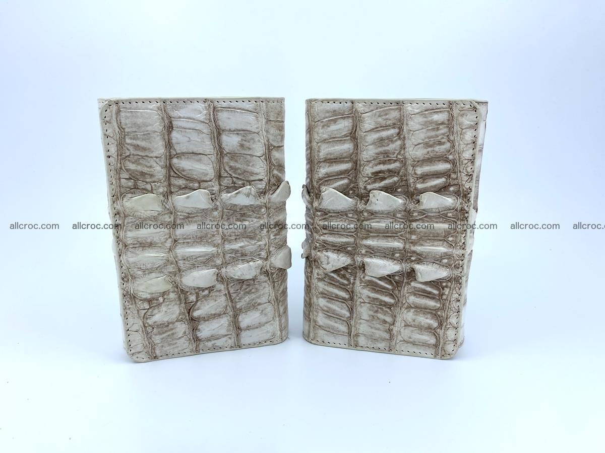 Siamese crocodile skin wallet for women 448 Foto 12