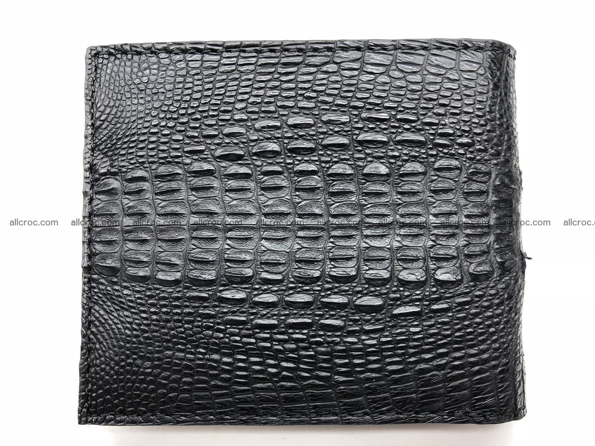 Siamese crocodile skin wallet with genuine crocodile head 508 Foto 3