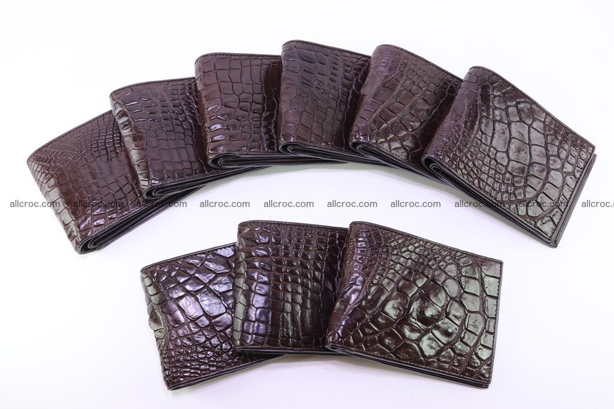 Siamese crocodile skin wallet 252 Foto 7