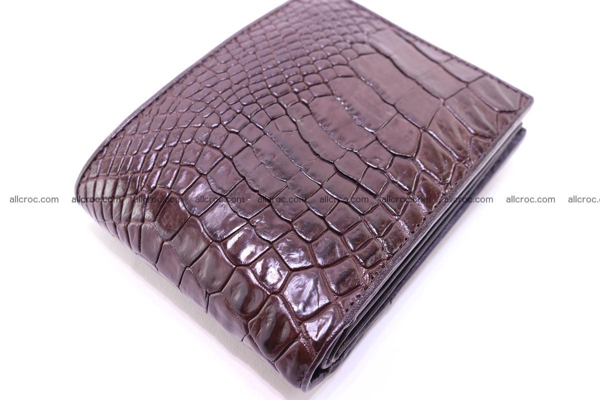 Siamese crocodile skin wallet 252 Foto 3