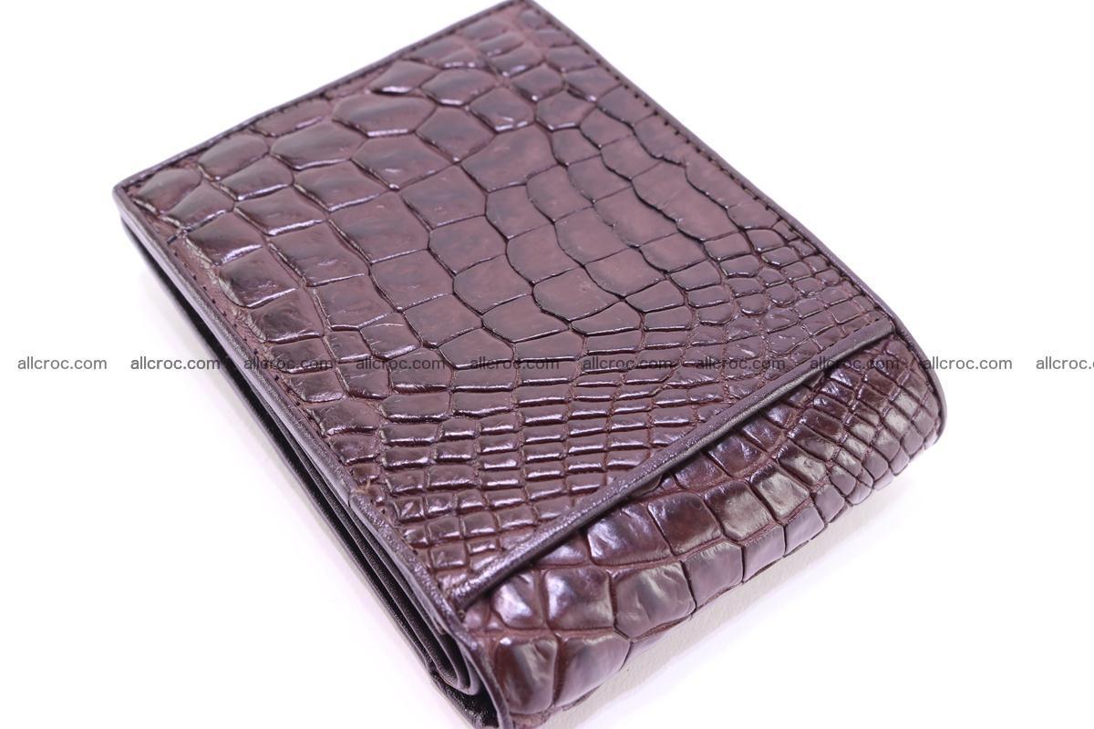 Siamese crocodile skin wallet 252 Foto 4