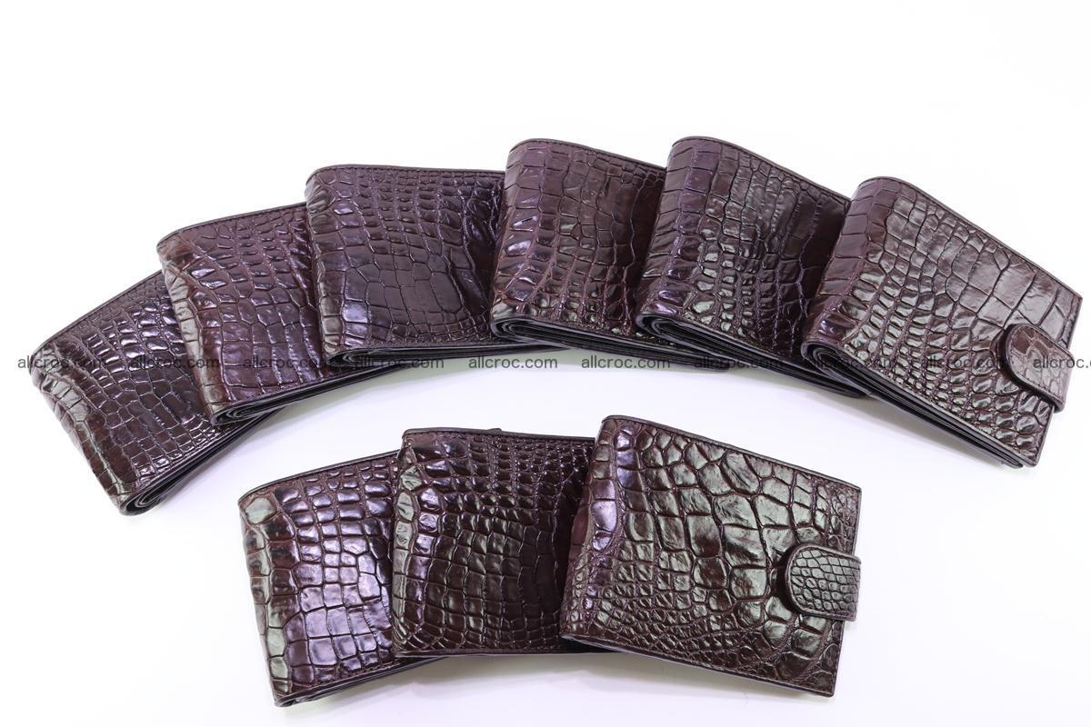 Siamese crocodile skin wallet  254 Foto 10
