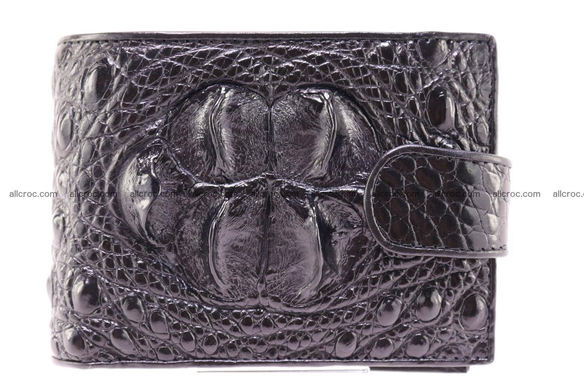 Siamese crocodile wallet with half belt and coins compartment 270 Foto 0