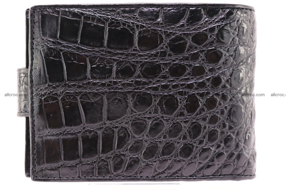 Siamese crocodile wallet with half belt and coins compartment 270 Foto 2