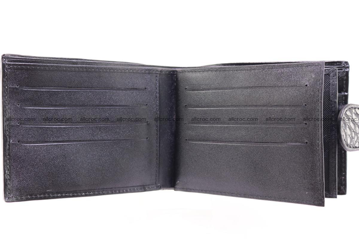 Siamese crocodile wallet with half belt and coins compartment 270 Foto 6