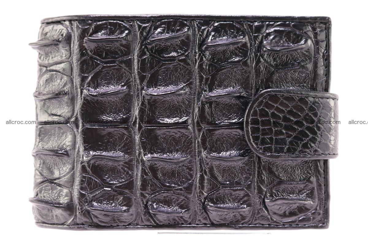 Siamese crocodile wallet with half belt and coins compartment 271 Foto 0