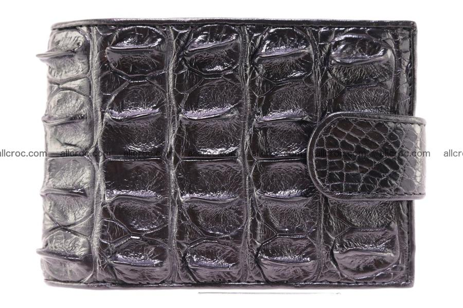 Siamese crocodile wallet with half belt and coins compartment 271