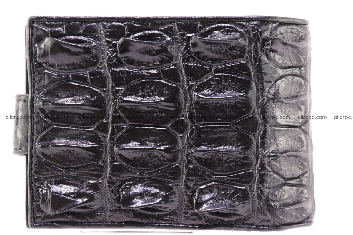 Siamese crocodile wallet with half belt and coins compartment 271 Foto 2