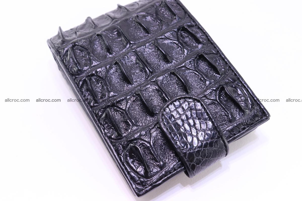 Siamese crocodile wallet with half belt and coins compartment 271 Foto 6