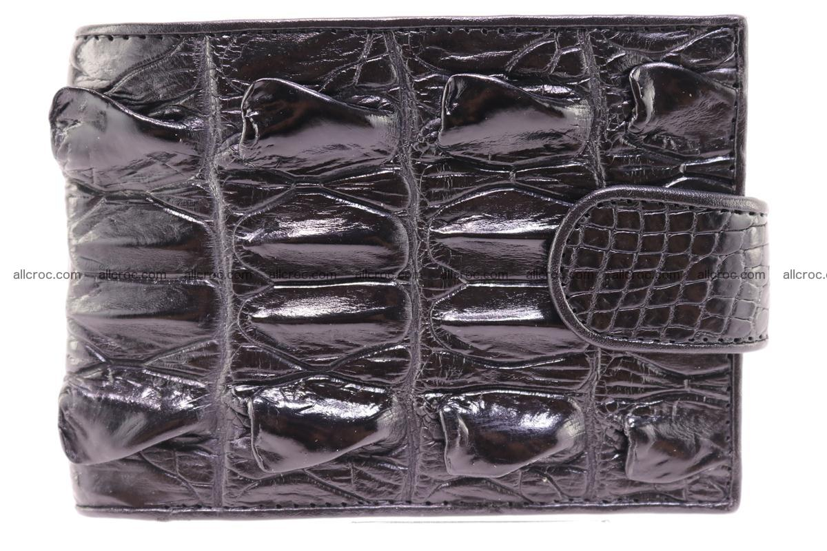 Siamese crocodile wallet with half belt and coins compartment 272 Foto 0