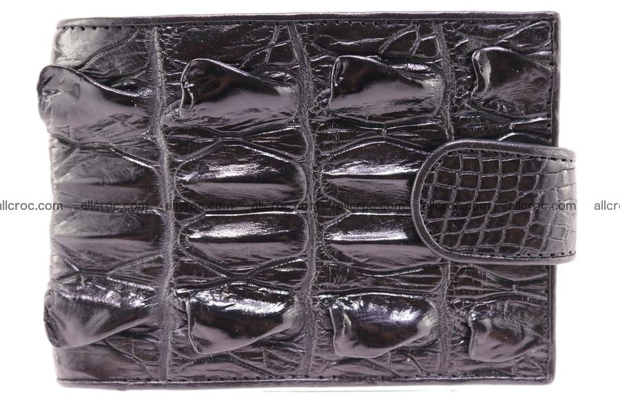 Siamese crocodile wallet with half belt and coins compartment 272