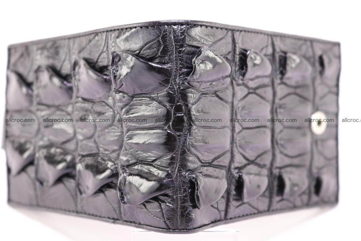 Siamese crocodile wallet with half belt and coins compartment 272 Foto 1