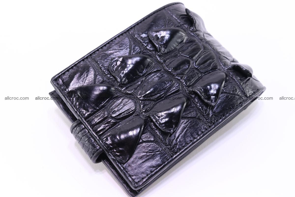 Siamese crocodile wallet with half belt and coins compartment 272 Foto 4