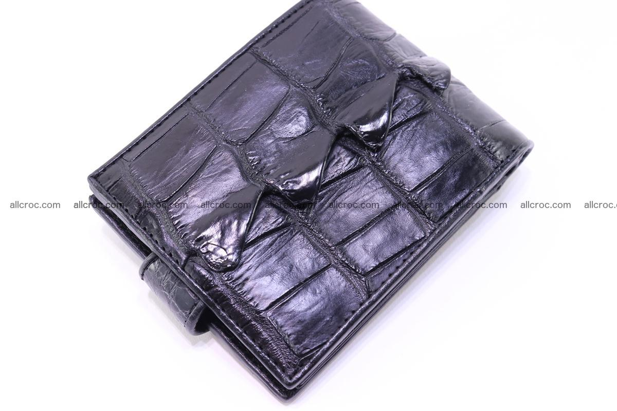 Siamese crocodile wallet with half belt and coins compartment 273 Foto 6