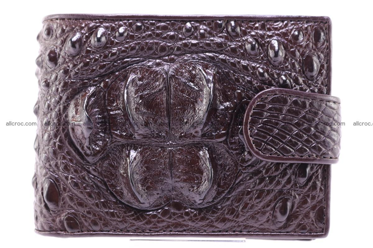 Siamese crocodile wallet with half belt and coins compartment 274 Foto 0
