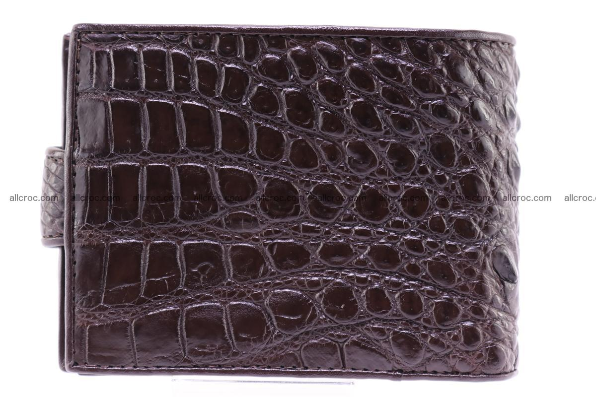Siamese crocodile wallet with half belt and coins compartment 274 Foto 1