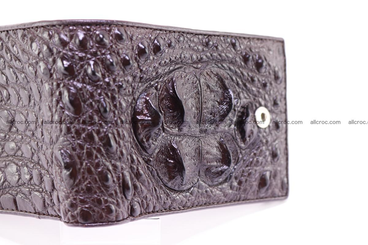 Siamese crocodile wallet with half belt and coins compartment 274 Foto 3