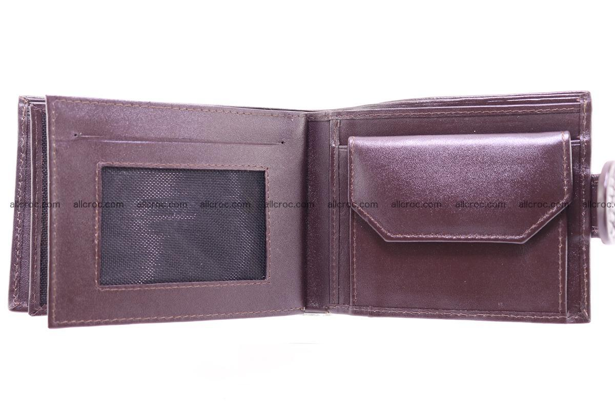 Siamese crocodile wallet with half belt and coins compartment 274 Foto 12