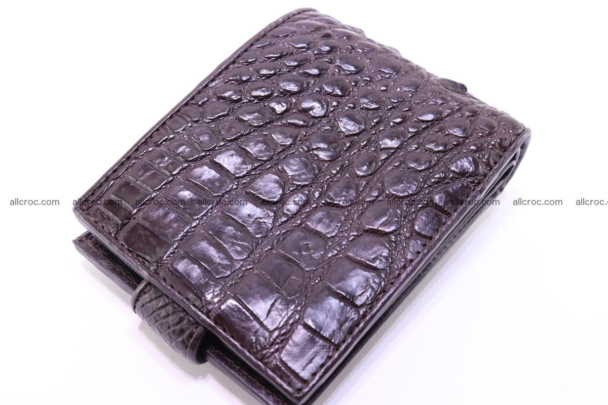 Siamese crocodile wallet with half belt and coins compartment 274 Foto 7