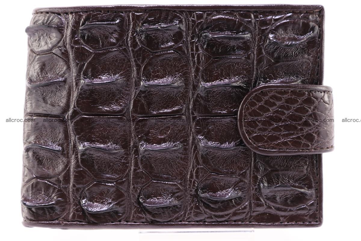 Siamese crocodile wallet with half belt and coins compartment 275 Foto 0