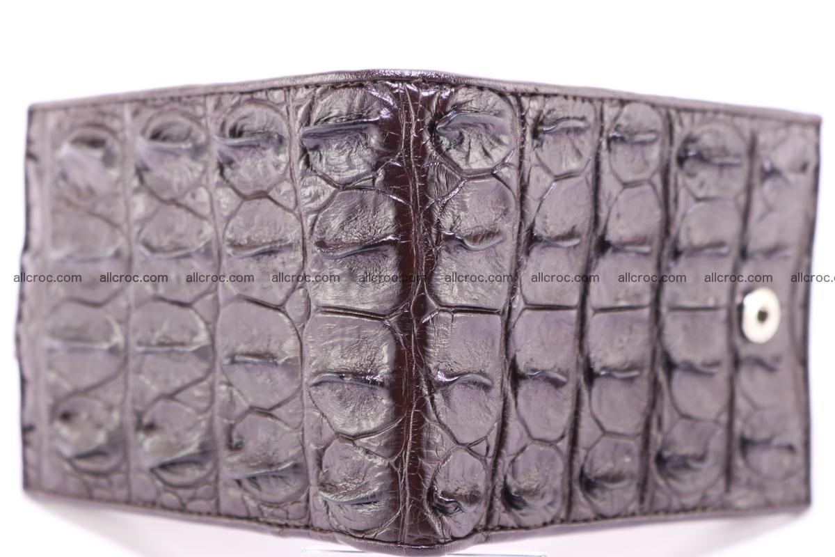 Siamese crocodile wallet with half belt and coins compartment 275 Foto 2