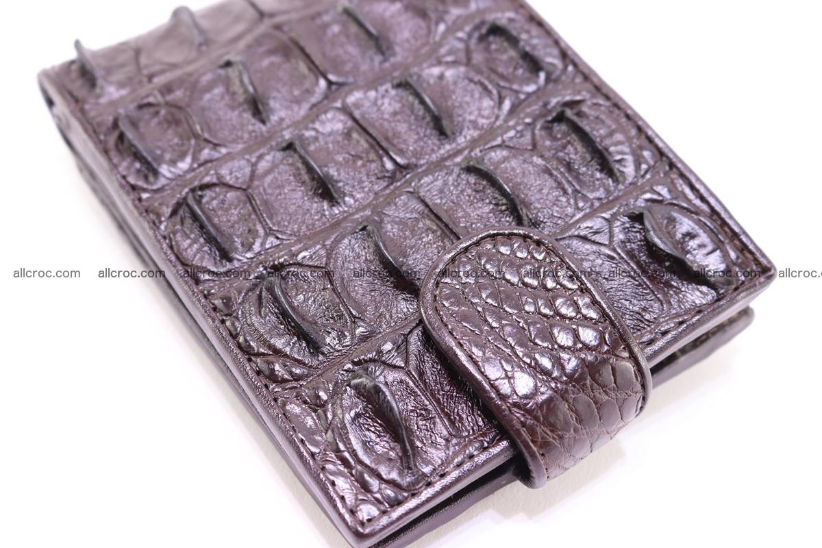 Siamese crocodile wallet with half belt and coins compartment 275 Foto 6
