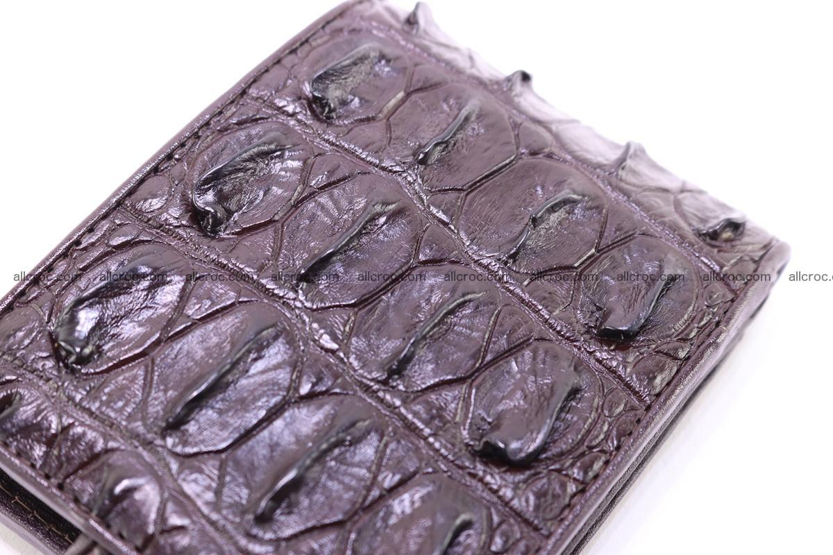 Siamese crocodile wallet with half belt and coins compartment 275 Foto 4