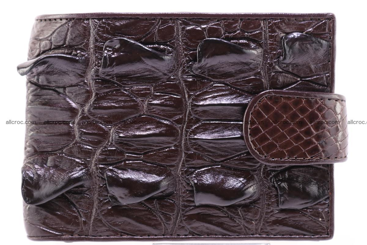 Siamese crocodile wallet with half belt and coins compartment 276 Foto 0