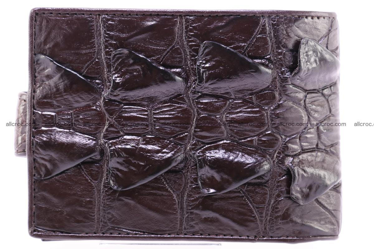 Siamese crocodile wallet with half belt and coins compartment 276 Foto 1