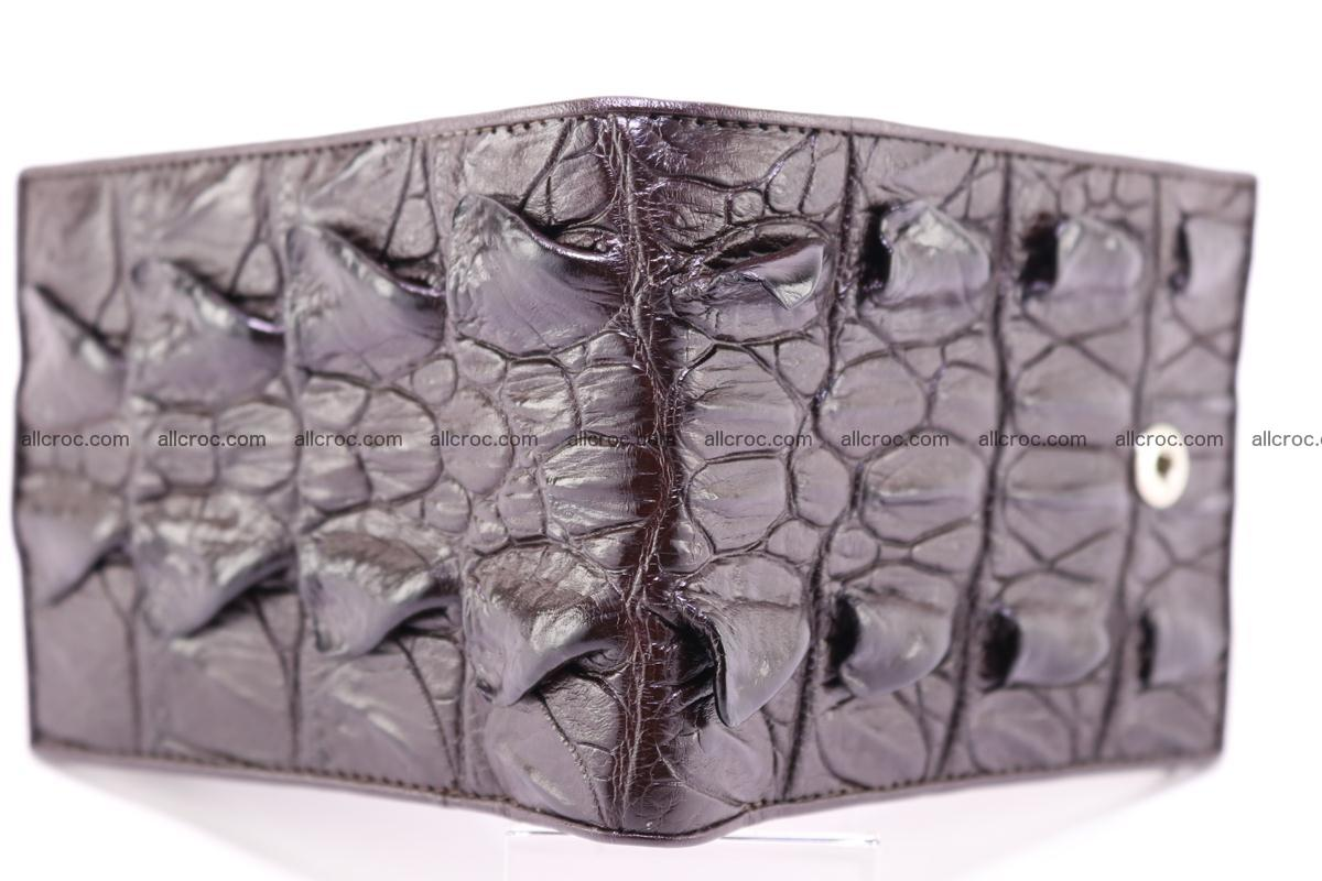 Siamese crocodile wallet with half belt and coins compartment 276 Foto 2