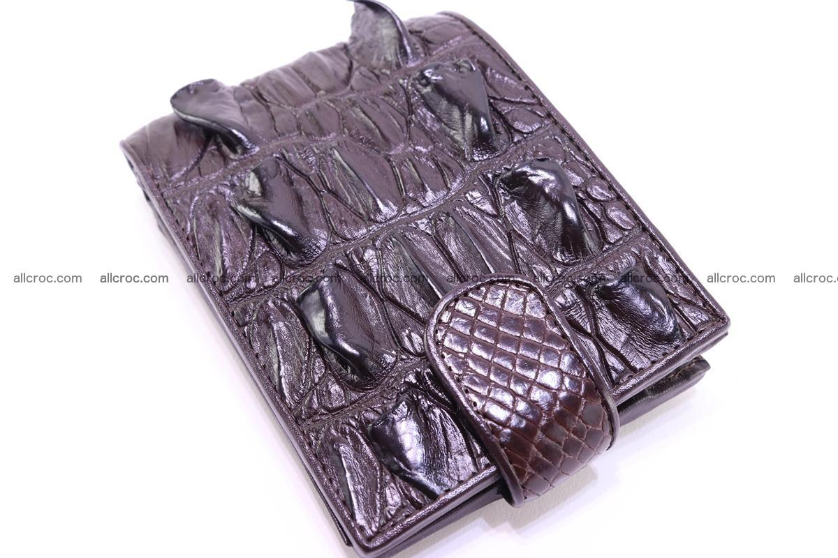 Siamese crocodile wallet with half belt and coins compartment 276 Foto 3