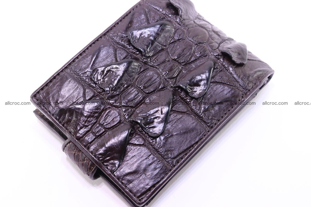 Siamese crocodile wallet with half belt and coins compartment 276 Foto 6