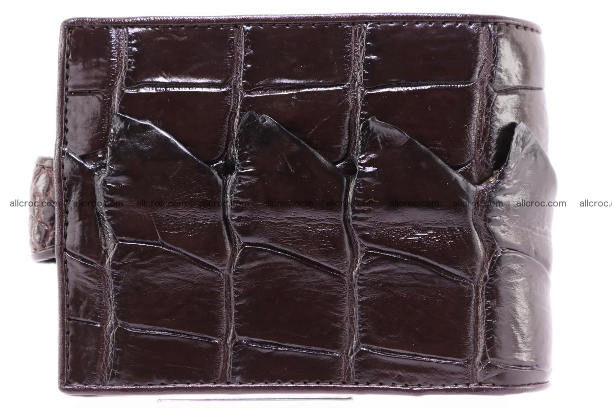Siamese crocodile wallet with half belt and coins compartment 277 Foto 1